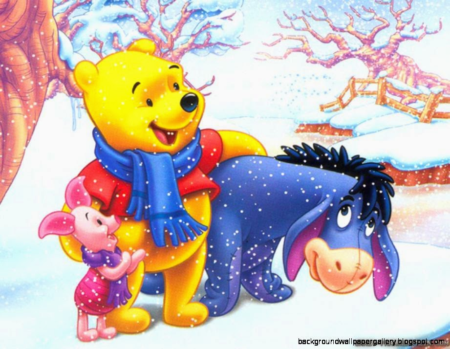 Winnie the pooh wallpapers hd christmas background wallpaper gallery view original size voltagebd Gallery