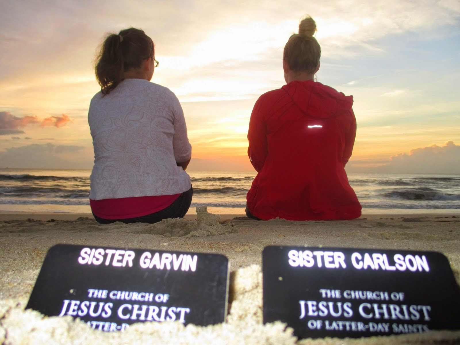 Sisters Garvin and Carlson