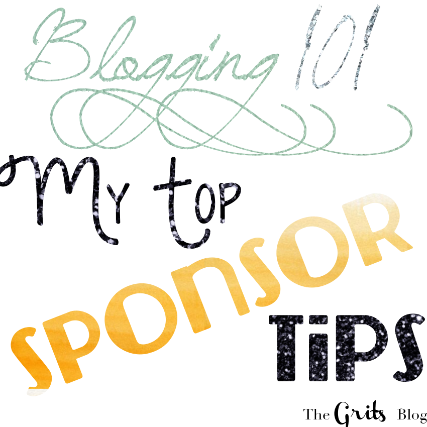 Blogging 101, blogging tips, blog sponsor tips, the grits blog, boone+owl, boone and owl