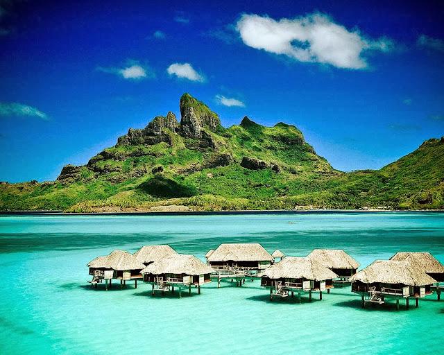 صورة طبيعية رائعة من جزيرة موريشيوس