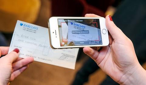 Dépôt de chèque par mobile
