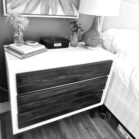 Two-Tone Midcentury Dresser