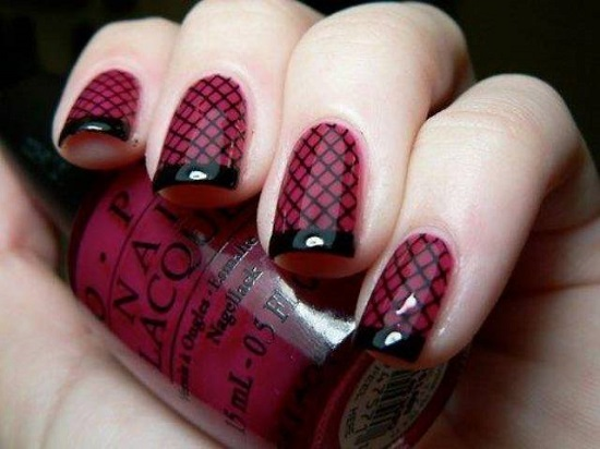 Zeeshan News: Latest Nail Polish Design For Girls 2015