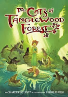 the cats of tanglewood forest by charles de lint and charles vess book cover