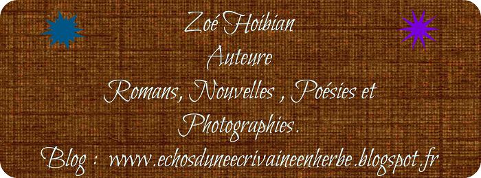 Echos d'une écrivaine en herbe
