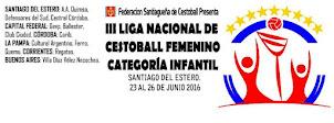 Liga Nacional categoría Infantil de Cestoball Femenino