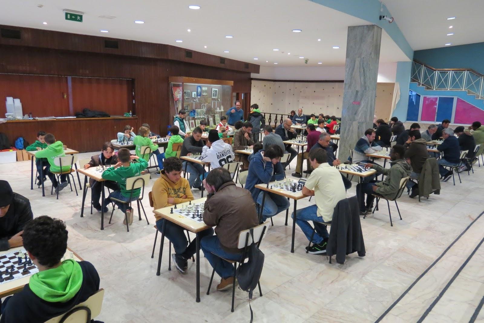 Circuito Na Academia : SecÇÃo de xadrez º torneio do ii circuito de xadrez do concelho