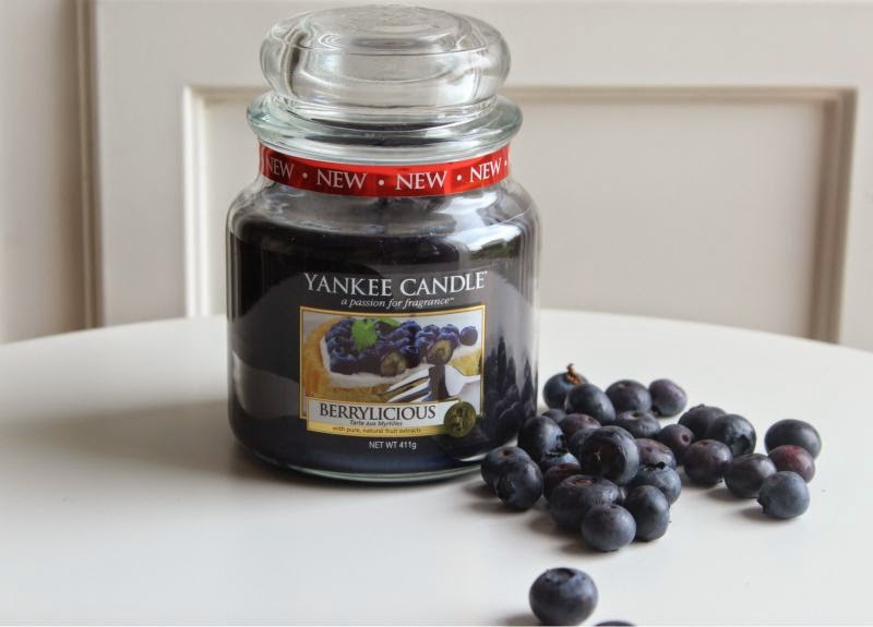 Yankee Berrylicious Candle