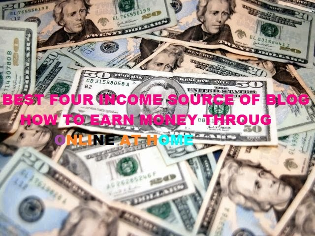 how to make money from blog or home