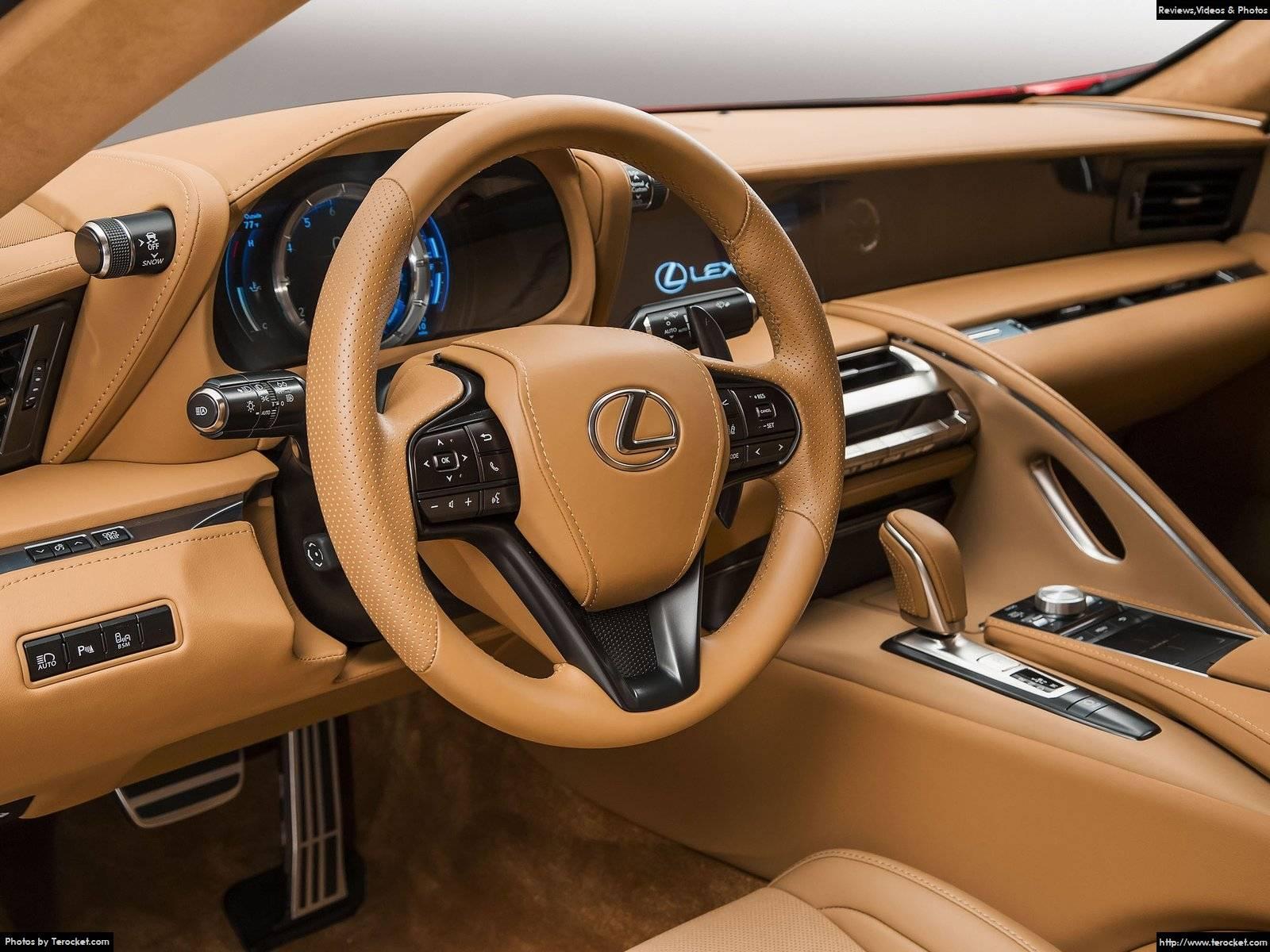 Hình ảnh xe ô tô Lexus LC 500 2017 & nội ngoại thất