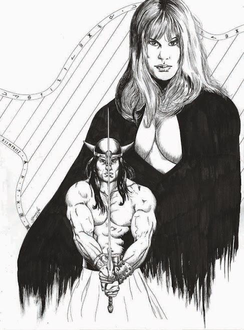 conan e a bruxa