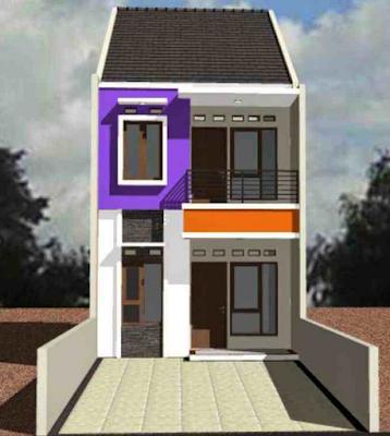 Desain rumah tingkat minimalis sederhana