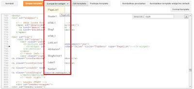 CARA MENGEDIT HTML TEMPLATE BLOGSPOT 2013 TAMPILAN BARU