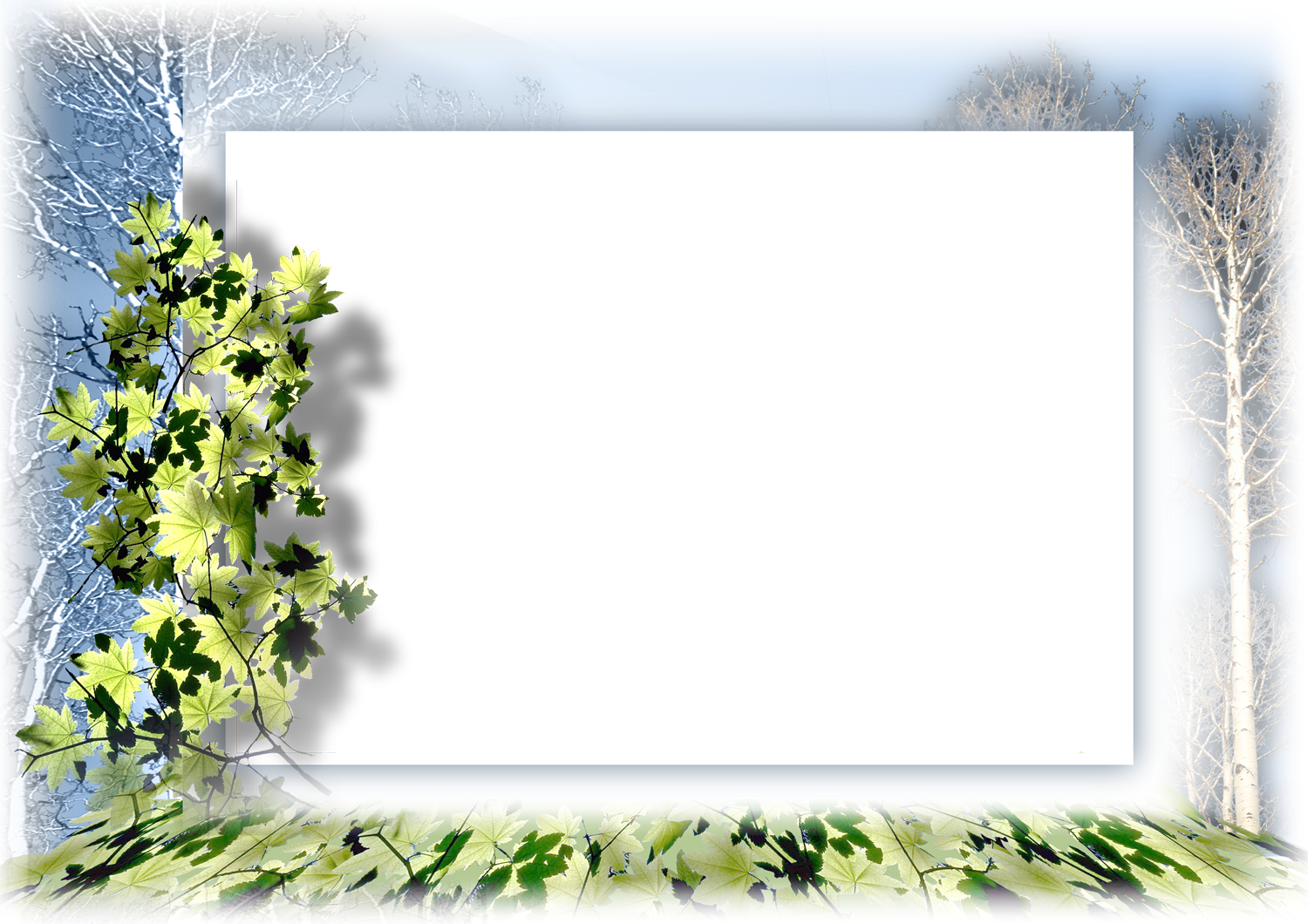photoshop image gallery  nature frames