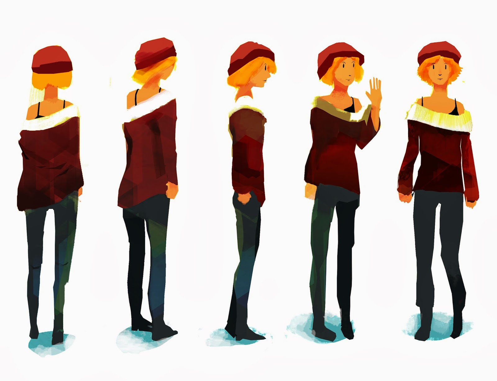 Character Design Principles : Marcus bowler sketches and illustrations march