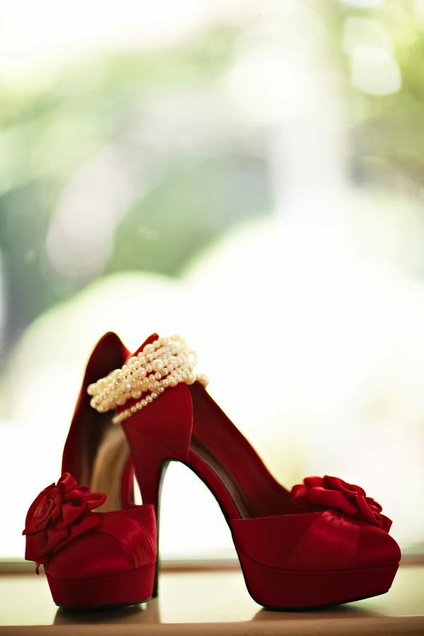 Memorable Wedding Red Wedding Shoes For The Wedding