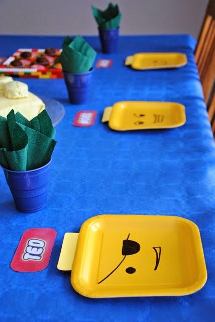 Platos para Fiestas Infantiles divertidos