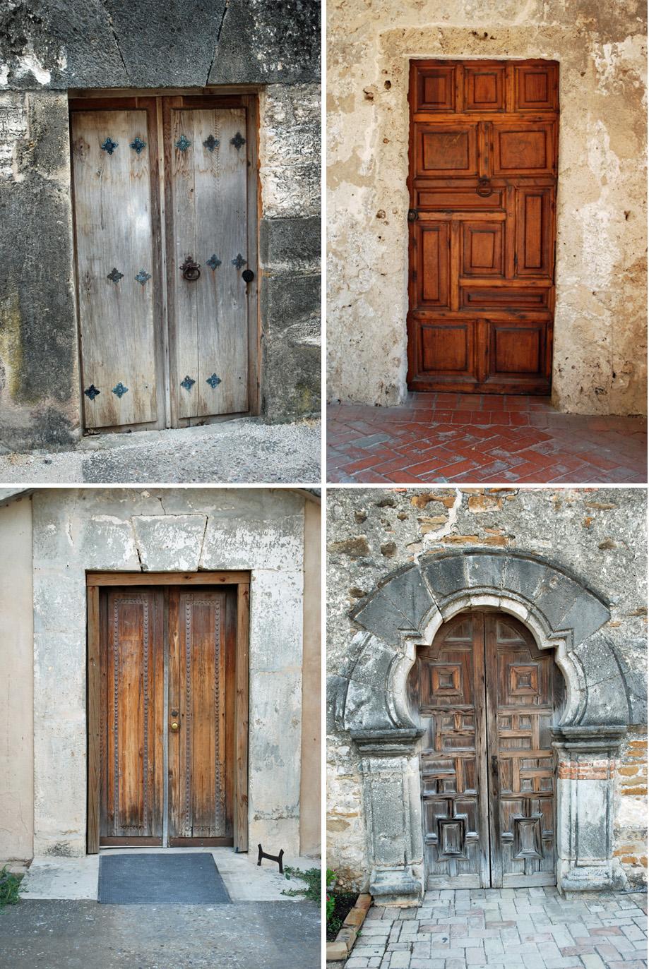 Old Doors & Lake and Garden: Old Doors