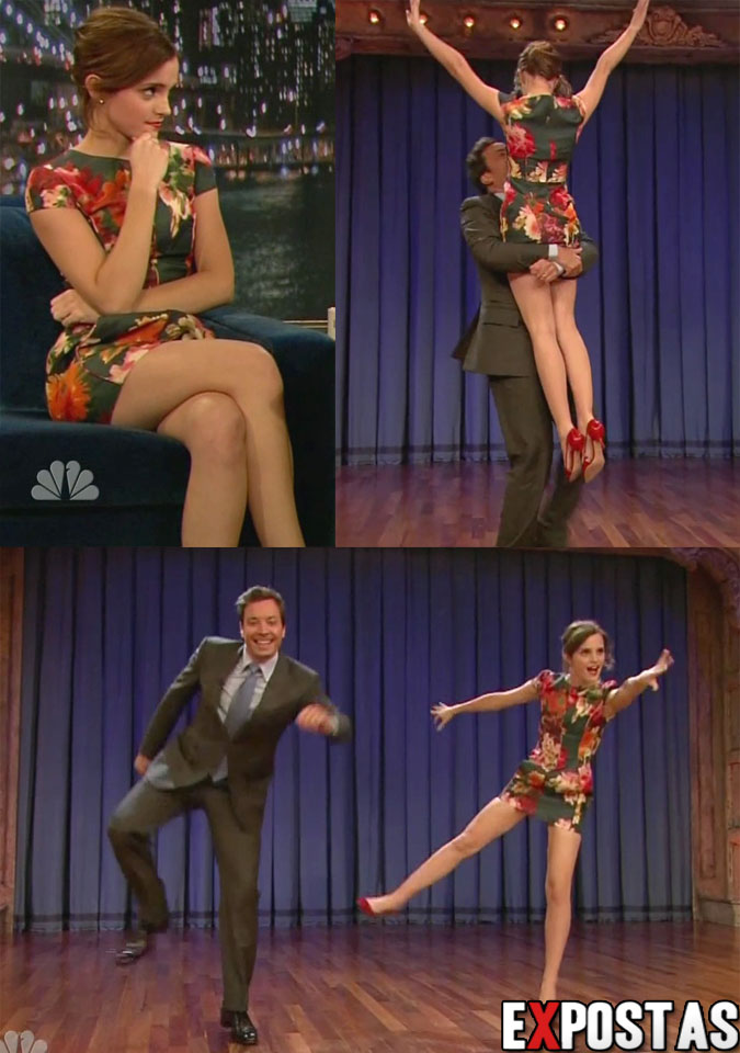 Emma Watson: 'Late Night with Jimmy Fallon' -  13 de Setembro de 2012