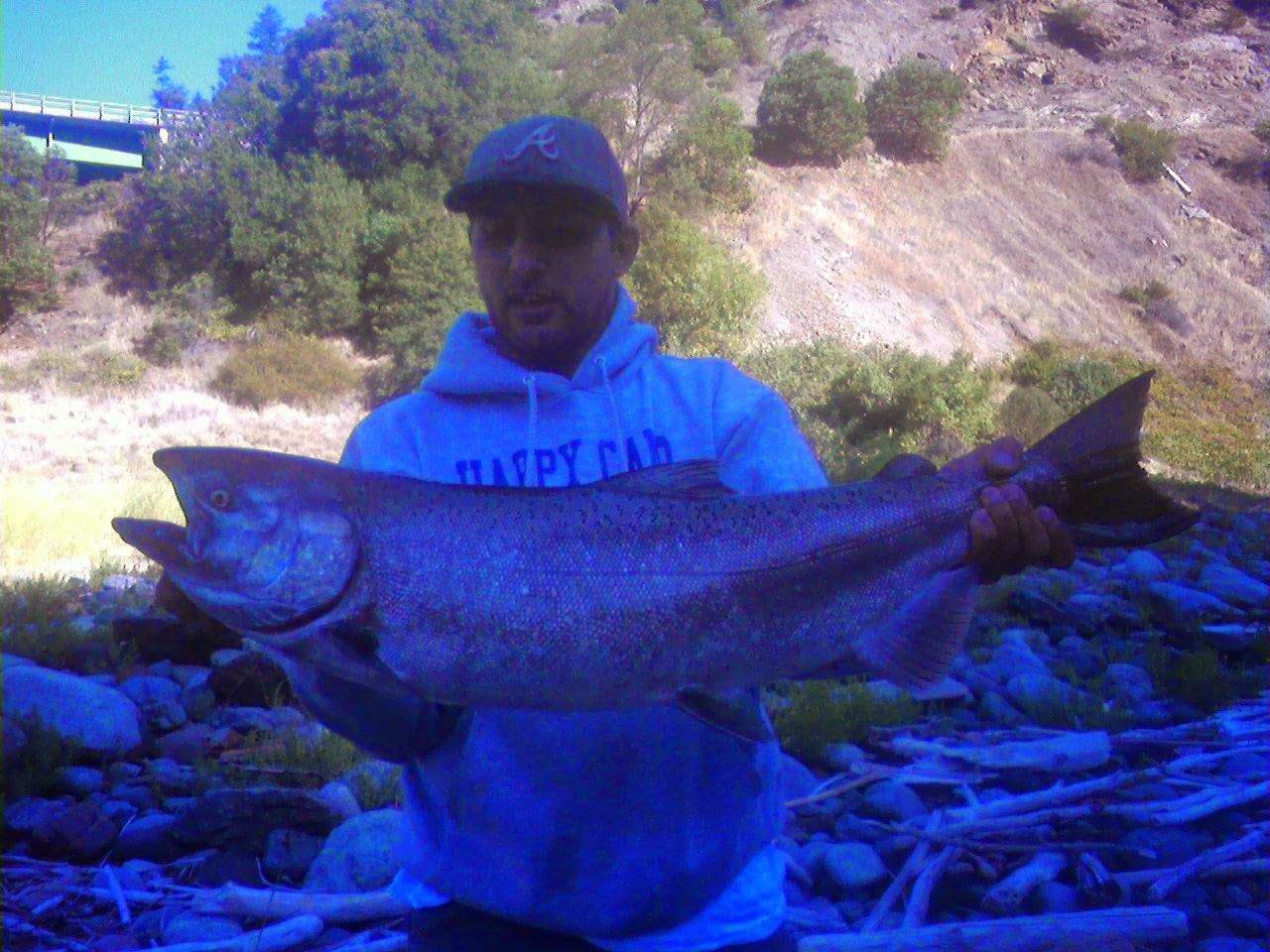 Klamath River fishing.