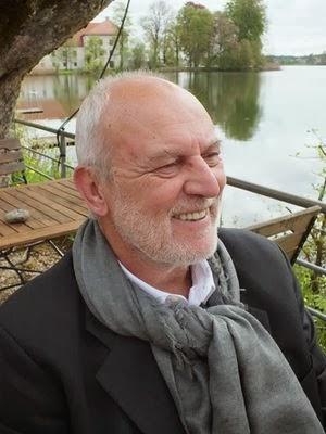 Helga König im Gespräch mit dem Künstler Helmut Findeiß