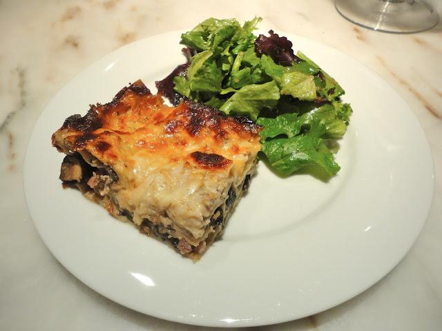 Meaty Mushroom Lasagna adapted from Giada di Laurentiis