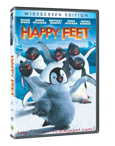 Download Happy-feet Cartoon Hollywood Movie Dubbed in Hindi poster Released in 2006 by i-m-4u.blogspot