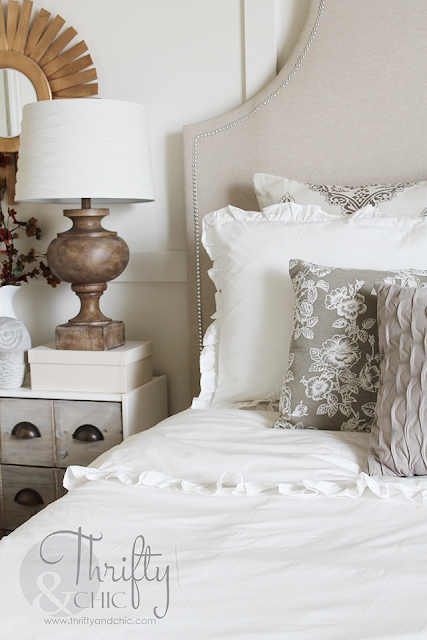 Tips for a great master bedroom refresh, without spending a ton of money!