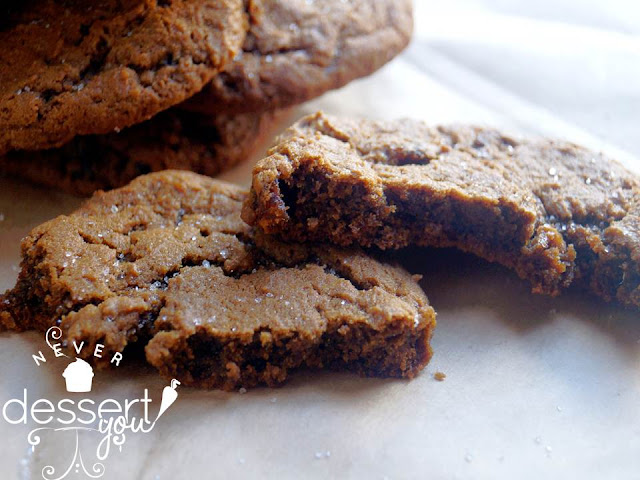 Chewy Ginger Cookies - Never Dessert You