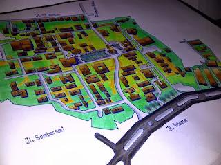 Gambar Peta Universitas Brawijaya (UB)