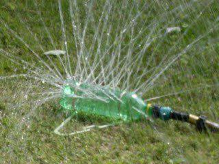 Sprinkler+from+plastic+bottle