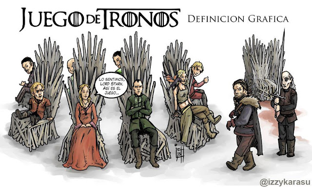 el autentico juego de tronos - Juego de Tronos en los siete reinos