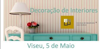 Curso de decoração de interiores - MAIO 2015