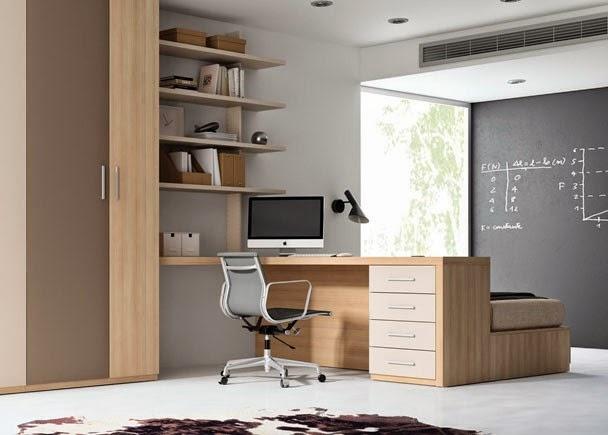 Escritorios juveniles - Habitaciones juveniles con escritorio ...