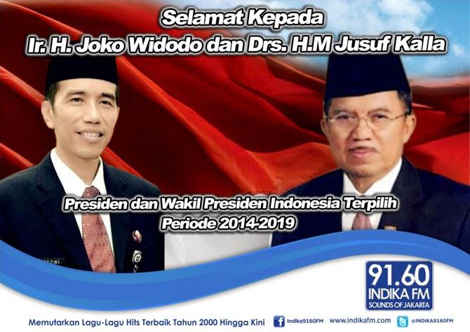 Presiden Dan Wakil Presiden Terpilih