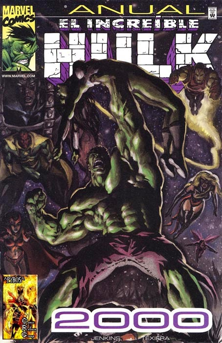 Portada de Hulk Anual 2000 traducido