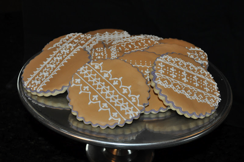 Gracie Cakes: Lace Sugar Cookies