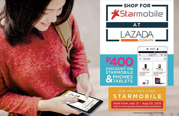Starmobile Effortless Shopping Sale