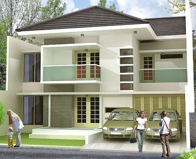 Contoh Rumah Bertingkat Minimalis