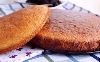 cake with kéfir and honey recipe