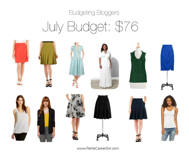 How much do you spend on clothes? | July Clothing Budget | Curvy Outfit Ideas | Petite Outfit Ideas | Plus Size Fashion | Summer Fashion | OOTD | Professional Casual Chic Fashion and Style Inspiration
