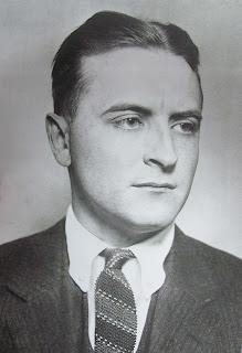 Krawat z dzianiny z roku 1937