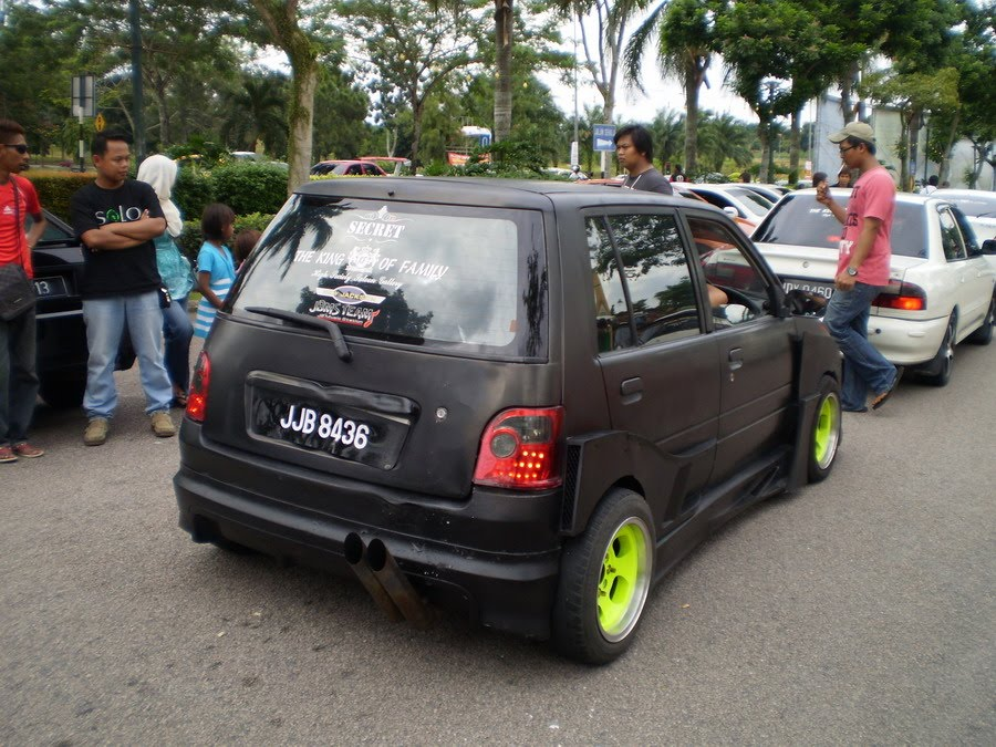 What The Tuck??: Matte Black Perodua Kancil