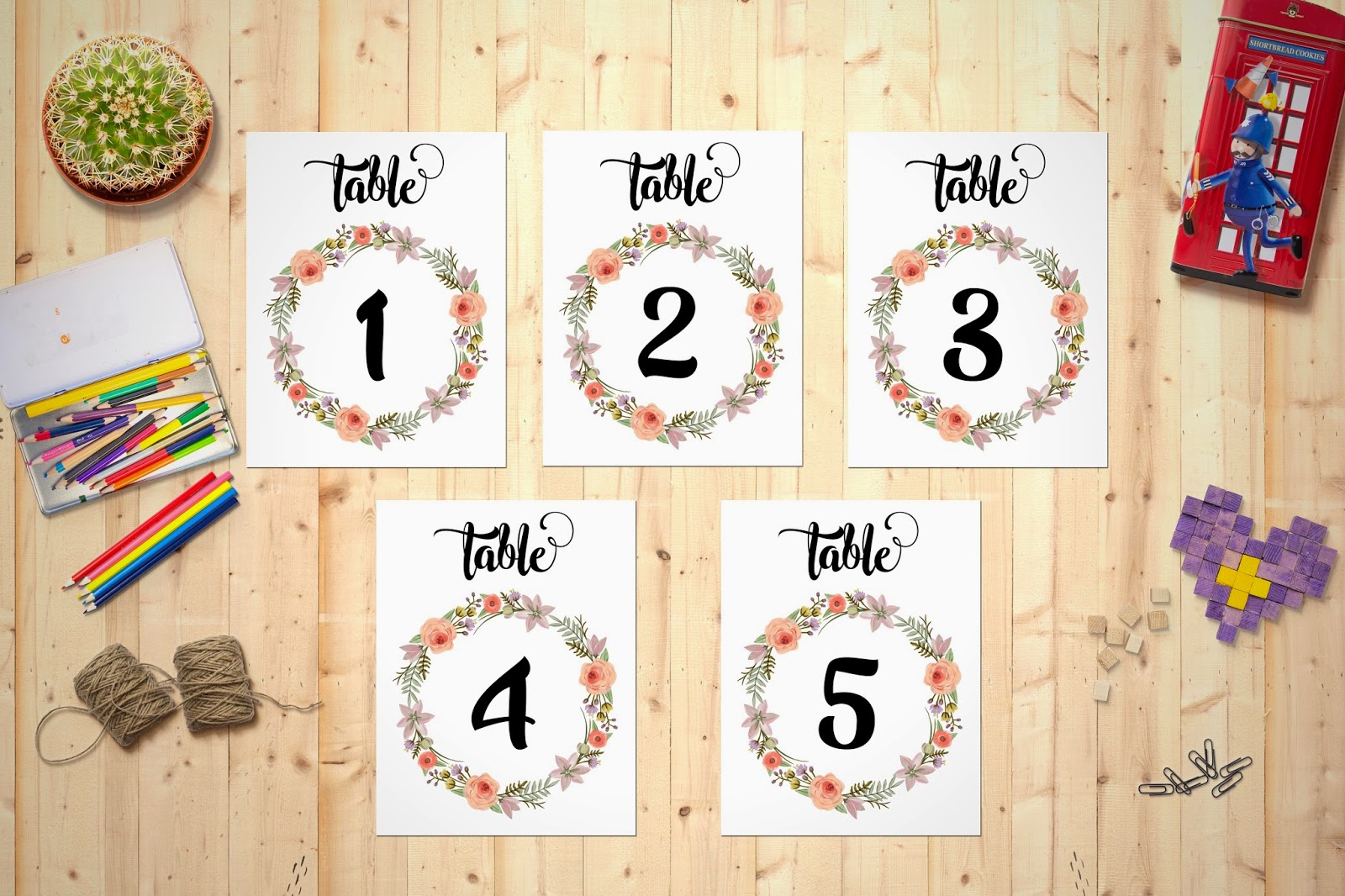 photograph about Free Printable Wedding Table Numbers titled PaperBelle MNL: FREEBIES - Printable Wedding day Desk Variety