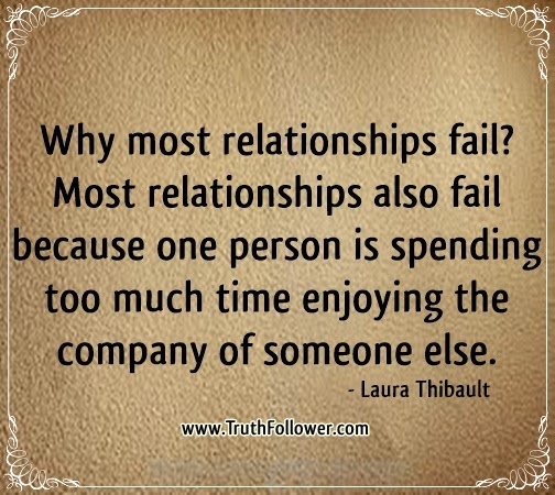 Why most relationships fail