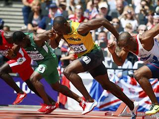 Usain Bolt ( Lightning Bolt )