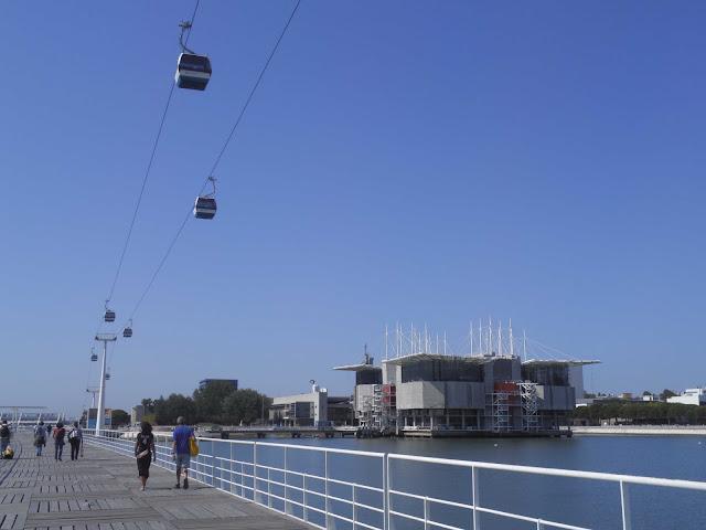 teleferico ponte oceanario