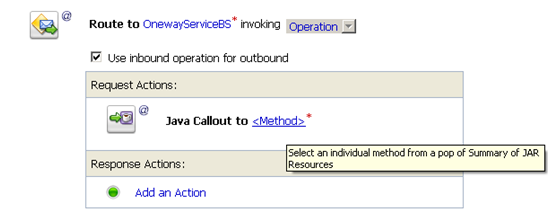Select Java Method