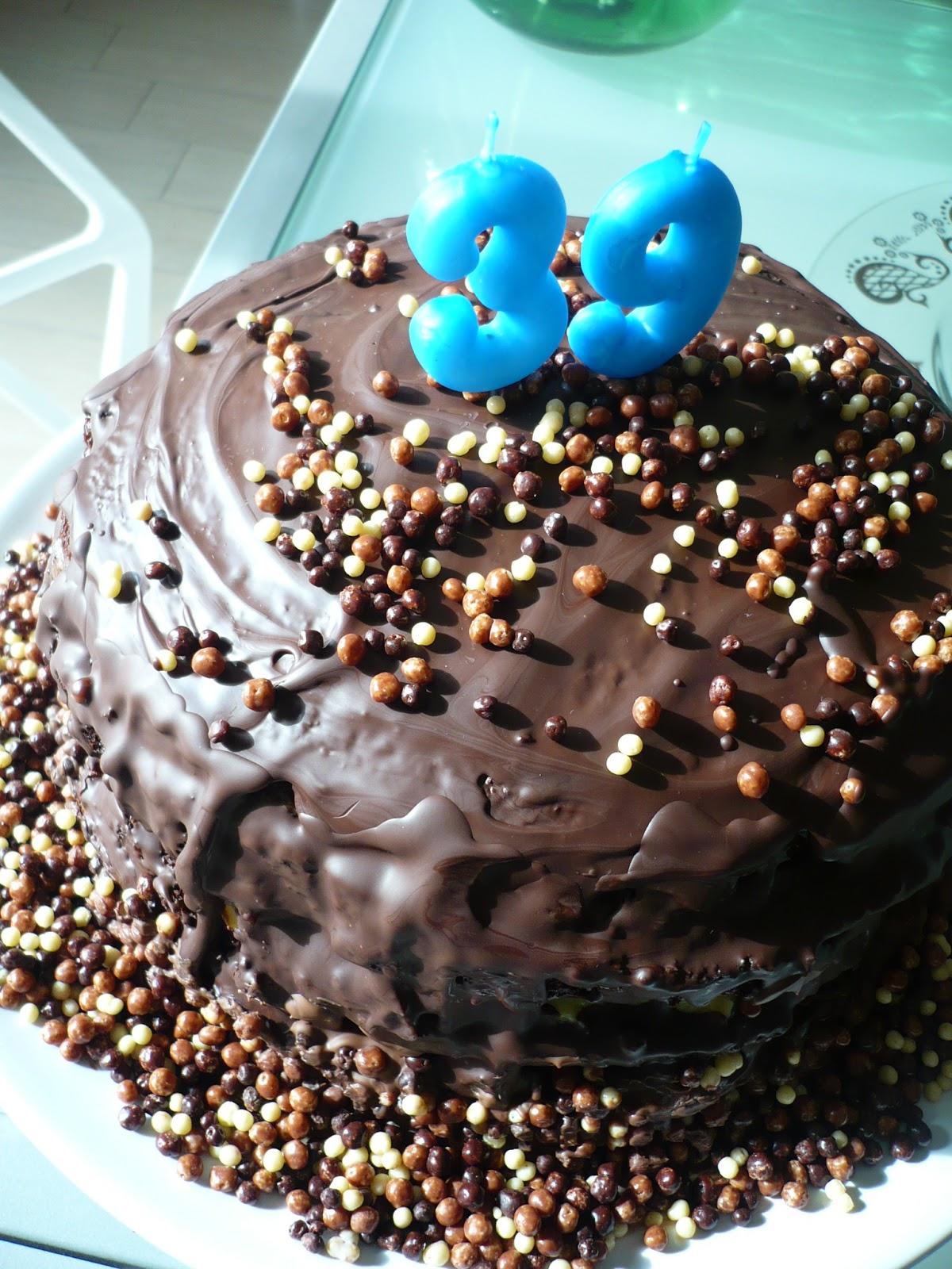 Rosa Ed Io Una Mega Torta Di Compleanno Al Cioccolato Con