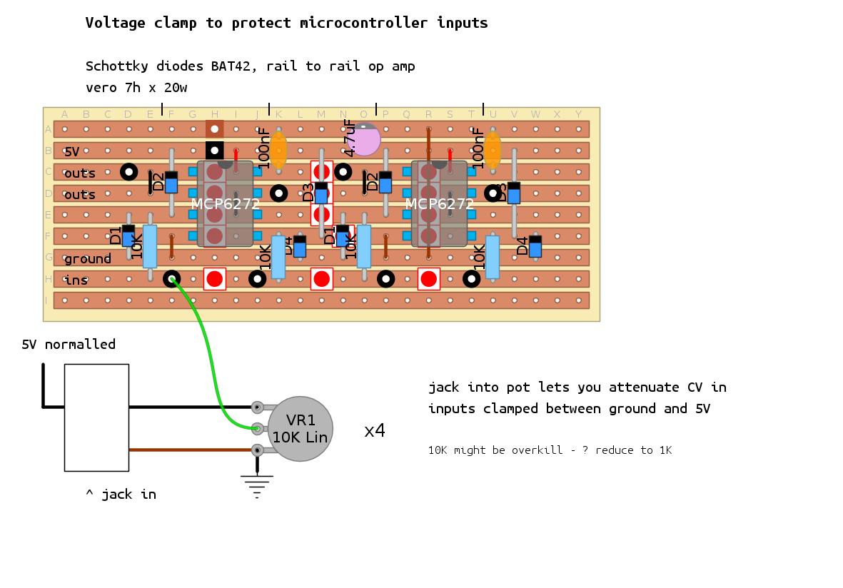 Fuzzy Music How To Build A Digital Potentiometer Circuit Using Mcp4131 Midi Thru